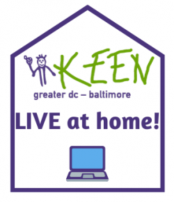 KEEN Live at Home logo